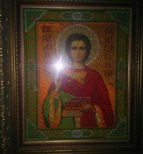 Икона Святого Целителя Пантелеимона