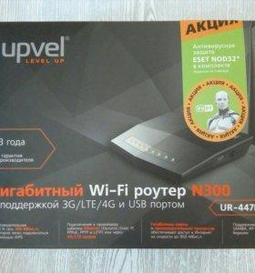 3G, 4G Wi-fi роутер N300, гигабитный