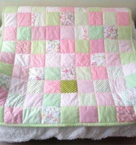 Лоскутное одеяло, для девочки