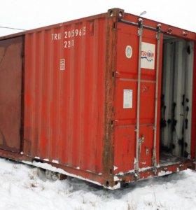 Переоборудование контейнеров в бытовки и т.д