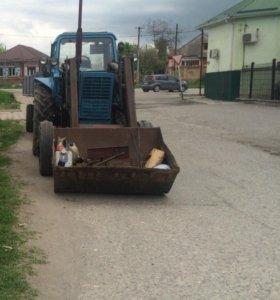 Услуги погрузчика вывоз мусора