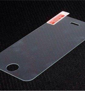 Закаленное стекло на iPhone 5-5s