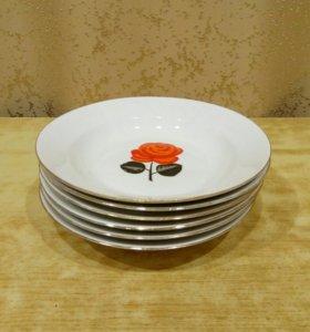 6шт. Новые тарелки.