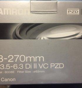 Tamron AF 18-270mm F/3.5-6.3 Di II VC PZD Canon