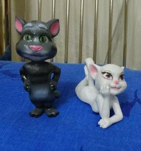 Котик Том и кошечка Анжела