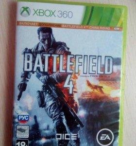 Диск BATTLEFILD 4 от Xbox360