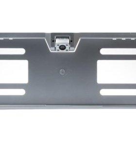 Камера заднего вида (рамка) серебристая