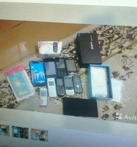 Телефоны кучей на стиралку.и т.д.
