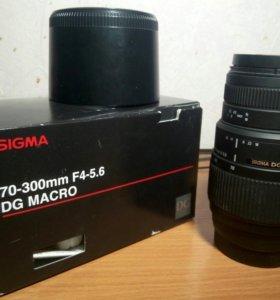 Sigma 70-300mm 1:4-5.6 DG Minolta A (Sony)