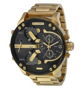 Новые часы Diesel Brave Gold