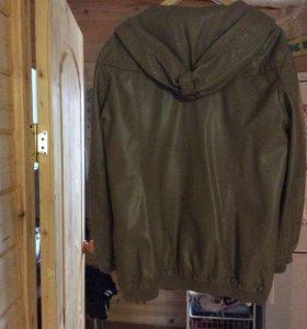 Куртка под кожу новая