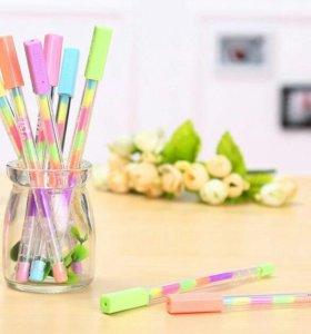6 цветов в одной ручке