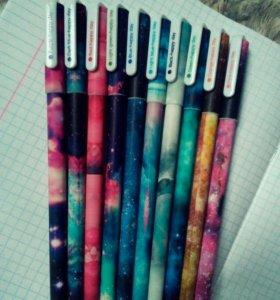 Гелевые разноцветные ручки