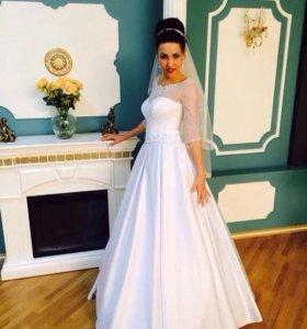 Новое свадебное платье с карманами !!!!