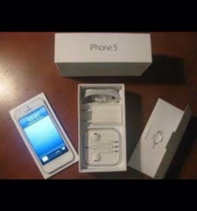 iPhone 5 white LTE