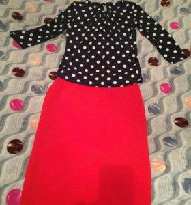 Кофточка + юбка