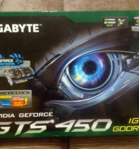 Видеокарта GTS 450