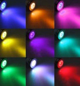 LED лампочки с переменными цветами