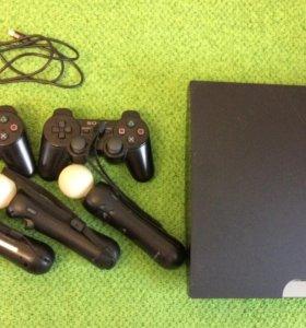 PS3, 3 move, 2 джойстика и камера