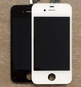 Дисплеи на iPhone 4.