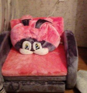 Детское раскладное кресло
