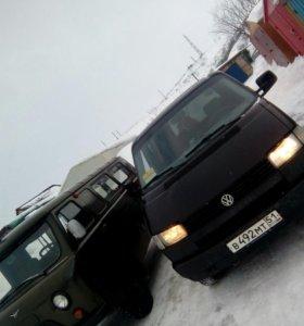 VW transporter t4 1994г 2,4d 86л.с.