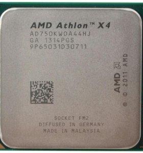 Продам процессор AMD 4x 750k, сокет - FM2