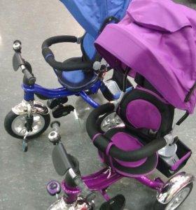 Детский велосипед с поворотом сидения