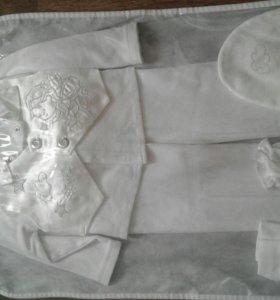 Крестильный костюм на мальчика