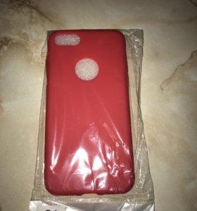 Чехол на iPhone 7силиконовый
