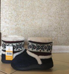 Домашние ботиночки/тапочки