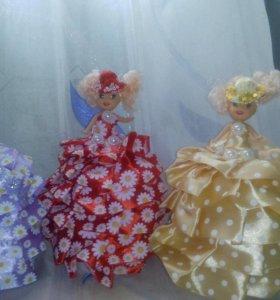 Куклы шкатулки#шкатулки#игрушки
