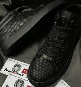 Мужские ботинки Roberto Cavalli