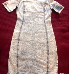 Новое джинсовое платье (befree)