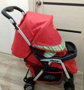 Напрокат прогулочная коляска seca aero