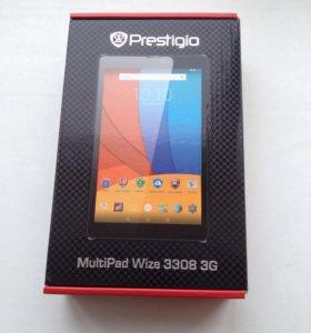 Планшет Prestigio MultiPad Wize 3308 3G НОВЫЙ