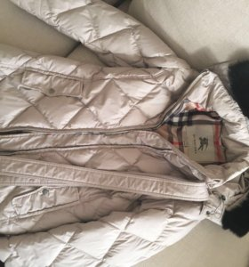 Пуховик куртка Burberry оригинал S