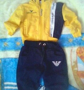 Спортивный детский костюм ARMANI