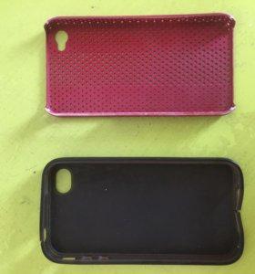 Чехол на айфон 4-4s, цена за оба.