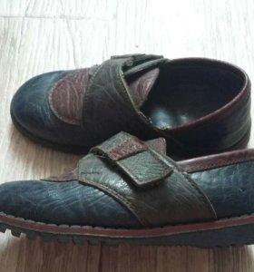 Натуральные ботинки унисекс