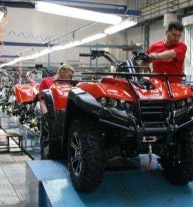 Ремонт квадроциклов и мототехники
