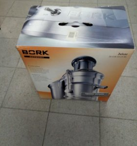 Соковыжималка Bork Juicer Ju CUN 20120 BK