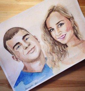 Портреты для любимых! 💕