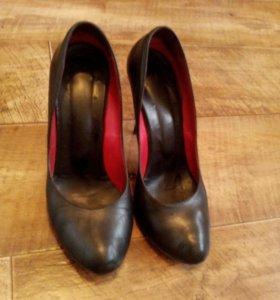 Туфли 👠 кожа