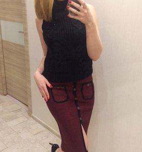 Новые юбки свитер