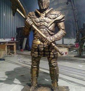Скульптура из бетона