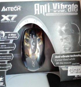 Новая игровая мышь A4Tech XL-750BH