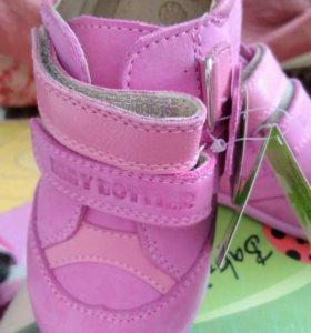 Новые! Детские ботинки.