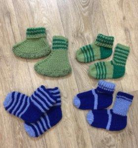 Носочки детские новые
