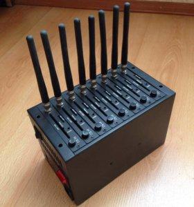 Модемный пул на 8 потоков Wavecom q2303